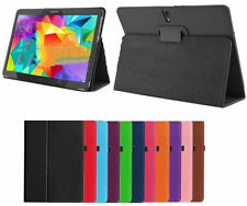 "FLIP COVER CUSTODIA IN ECO PELLE SAMSUNG GALAXY TAB 3 10.1"" P5200 VARI COLORI °°"
