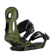 Ride Kids Snowboard Bindings - Phenom Green - Youth Binding, All-Mountain, 2016