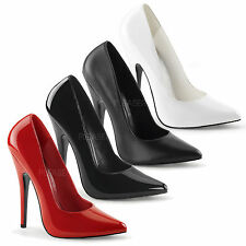 DEVIOUS By Pleaser - Domina-420 High Heel Sexy And Stunning Court Shoe