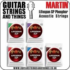 Martin LIFESPAN SP Phosphor Bronze Acoustic Guitar Strings - ALL GAUGES 6 String