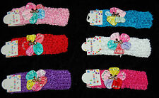 Newborn Girls Kids Baby Toddler Infant Flower Headband Hair Band Accessories