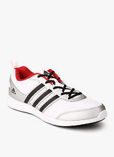Adidas Brand Mens YKing M White Black Red Running Sports Shoes