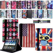 "New Universal Folio Leather Case Cover For Android Tablet PC 7"" 8"" 9"" 9.7"" 10.1"""