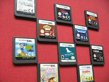 Nintendo DS GAMES / 3DS - Select - from BUNDLE OF RARE / COLLECTABLE Games