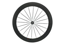 Carbon Road BikeWheel 60mm Clincher&Tubular Bicycle Single Wheel Front&Rear 20.5