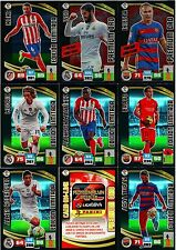 Panini Adrenalyn XL Liga BBVA 2015-16 Limited Editions,Super Crack & Premium Ora