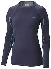 Columbia Women's Midweight Omni-Heat Stretch Baselayer Top - AW15: Nocturnal