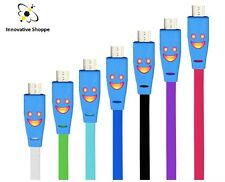 LED Smiley Light Up Micro USB Charging Cable Buy 2 Get 1 Free