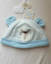 Baby Boys Face And Ears Hat Size 0-0 Month,0-3 Months,3-6 Months,6-9 Months
