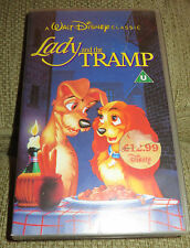 Walt Disney Classics Lady & The Tramp VHS Video