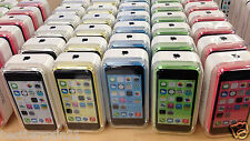 Apple iPhone 5C 16GB 32GB 4G 8MP Mobile Smartphone Factory Unlocked With Box UK