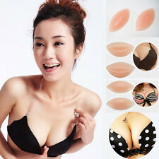 Bikini Silicone Breast Enhancer Gel Bra Inserts Pads Push Up For Underwire Bras