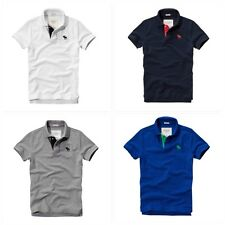 Mens Abercrombie and Fitch Polo T Shirt by Hollister Muscle Size S-XXL