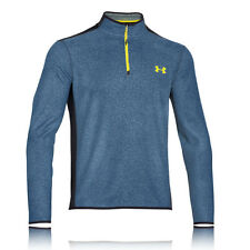 Under Armour Infrared Survival Mens Blue ColdGear Long Sleeve Sports Running Top