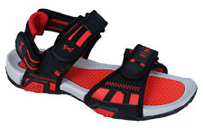 Unique Brand Mens Black Red Casual Sports Sandal - SS 428