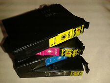 Fits SX235 SX425 & more Black blue red yellow printer ink cartridges 1281/2/3/4