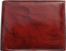 Pure Leather Wallet Purse for Men Gents with Card Slots, 4 Colour Available