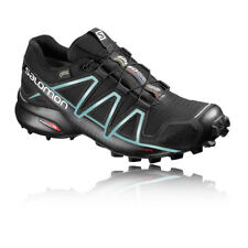 Salomon Speedcross 4 Womens Black Gore Tex Waterproof Trail Running Shoes