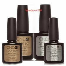 CND Shellac Nail Polish Choose Top, Base Coat, XPRESS5 or Top & Base Coat Set UK