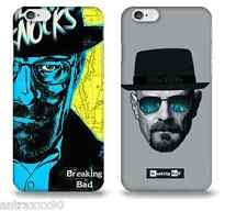 Cover per iPhone PLASTICA RIGIDA Breaking Bad, custodia SERIE TV, Heisenberg,