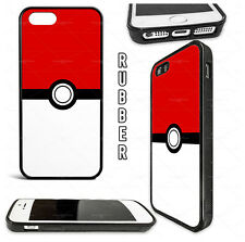 Pokemon Pokeball Pikachu Game Phone Case Cover for iPhone Samsung Rubber/Plastic