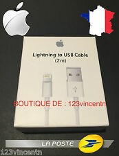 APPLE CABLE LIGHTNING USB ORIGINAL APPLE pour iphone 5/5c/5s/6/6 plus/ipod/ipad