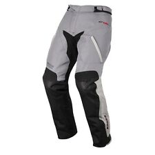 Alpinestars Andes Grey Drystar Waterproof Black Textile Motorcycle Trousers