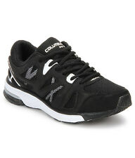 COLUMBUS BRAND MENS YAHOO BLACK WHITE CASUAL LACE SPORTS SHOES