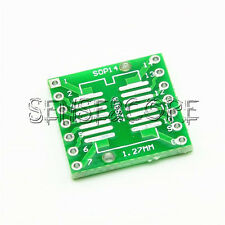 SOP14 SSOP14 TSSOP14 to DIP14 PCB SMD DIP/Adapter plate Pitch 0.65/1.27mm