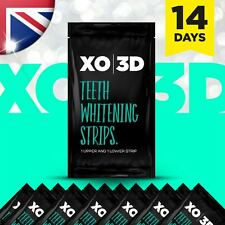 XO 3D Advanced Pro Teeth Whitening Strips Great Results Whitestrips UK Seller