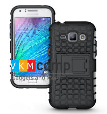 New Samsung Galaxy J2 J200G 2015 Hard Armor Hybrid Bumper Stand Rugged Back Case
