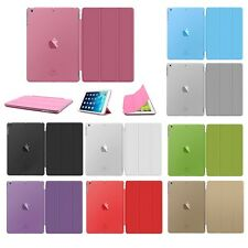 New  Magnetic Leather Wallet Smart Flip Case Cover For Apple iPad Air 2 iPad 6