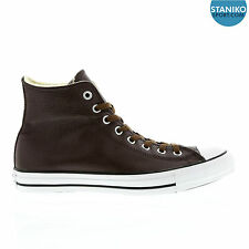 Mens CONVERSE CT HI Burnt Umber Winter Leather Trainers with Fur 146870C UK 7.5