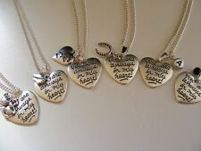 MEMORIAL BEREAVEMENT SILVER CURB NECKLACE WITH CHARM YOU CHOOSE