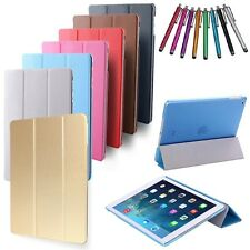 Magnetic thin Smart Slim Stand Cover Case for Apple iPad, iPad Air, iPad Air 2