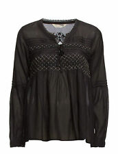 ODD MOLLY REMIX SMASHER BLOUSE ALMOST BLACK SZ 2 £135