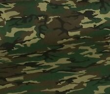"Jungle Print Camouflage Poly Cotton Medium Weight thicker Fabric150cm /59"" Camo"