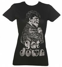 Women's Black Get Down James Brown T-Shirt from Goodie Two Sleeves