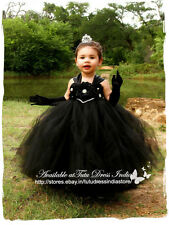 BLACK TUTU DRESS  FOR GIRL INFANTS - BIRTHDAY, PARTY, FREE BAND