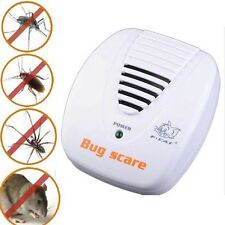 Electronic Ultrasonic Pest  Control Repeller Rat Mosquito Mouse Insect Rodent LC