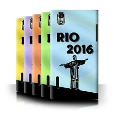 STUFF4 Phone Case/Back Cover for LG Prada 3.0/K2/P940 /Rio Olympic