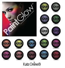 Genuine PaintGlow GLITTER SHAKERS Face & Body Loose Shiny Eye Shadow UV Reactive