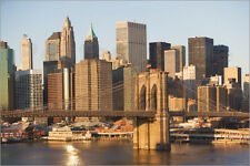 Poster / Leinwandbild USA, New York state, New York city, Brooklyn Bridge ...