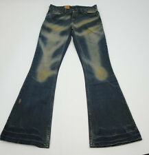 "GENUINE LEVIS WOMENS/GIRLS SUPER LOW & FLARED LEG JEANS 30""  (00544.04.63)  B65"