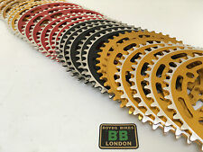 Sugino Red Gold Black 39T 40T 44T NOS Chainring - Raleigh Burner Old School BMX