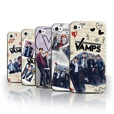 Official The Vamps Case/Cover for Apple iPhone 4/4S /The Vamps Doodle Book