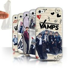 The Vamps Gel/TPU Case/Cover for Apple iPhone 4/4S /The Vamps Doodle Book