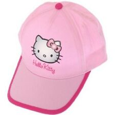 Girls Hello Kitty Baseball Cap Sun Hat Size 1-4 Years