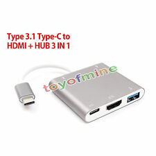USB 3.1 Type C to HDMI USB 3.0 Type-c Adaptateur For LeTV Mobile Phone Apple