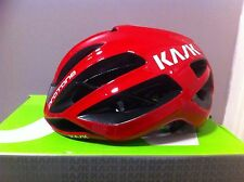 KASK Protone Road Racer Cycling Helmet, Biking Helmet Red Medium 52-58cm